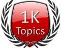 Start 1K Forum Topics Icon