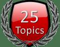 Start 25 Forum Topics Icon