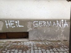 Graffiti in Anklam. Foto: Carsten Korfmacher