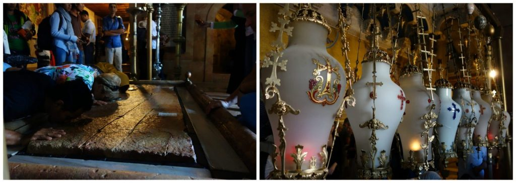 Interior del Santo Sepulcro. Conocer Jerusalén