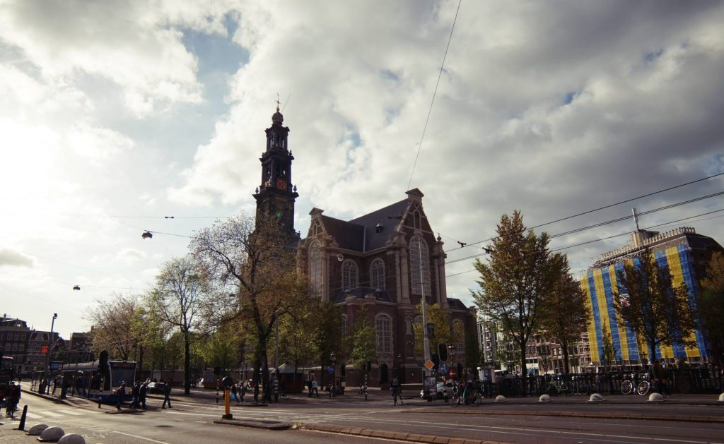 Iglesia Westerkerk. Que hacer en Amsterdam