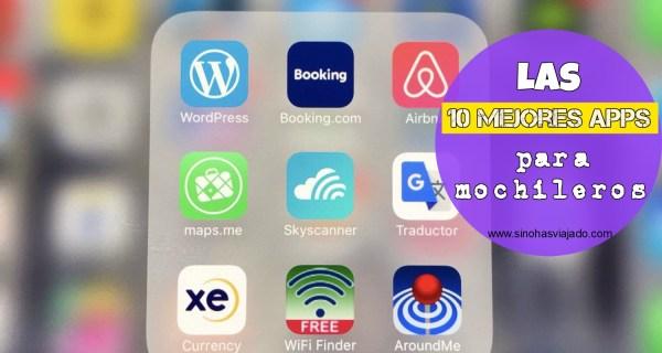 mejores apps para mochileros