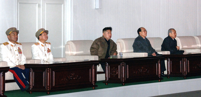 Kim Jong-un, pictured in Rodong Sinmun, April 16, 2012