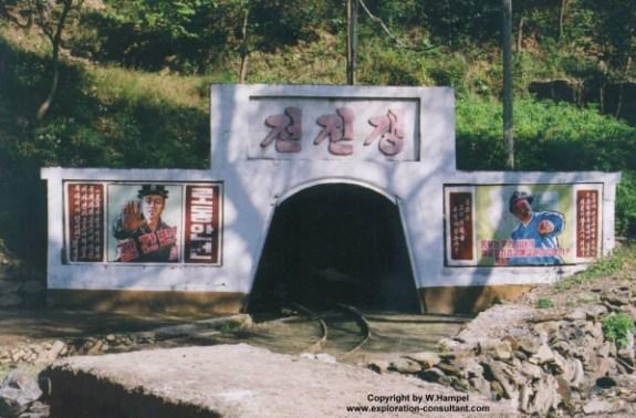 Pyongsan Fluorite Mine, North Hwanghae Province   Image: Wolfgang Hampel
