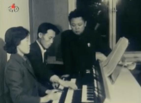 Kim Jong Il at Opera Rehearsal, circa 1971 | Image: Korean Central Television