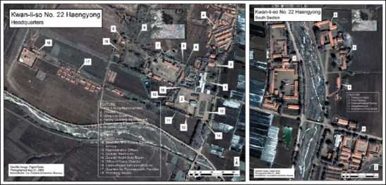 Satellite Image of Camp 22, dated 2002 | Image: NK Now