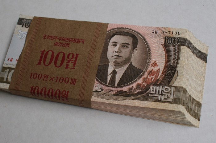 "How much ""currency"" do the elites have in North Korea? Non-state controlled market activites and rent-seeking are curtailing the power and influence of the elites that run the state. 
