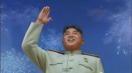 The newest major statue of Kim Il-sung, looking not unlike his portly grandson | Image: KCTV