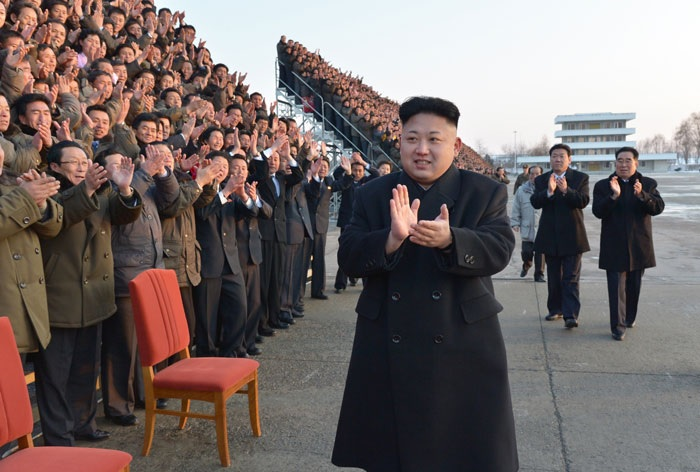 Subworkteam Leaders and Kim Jong-un