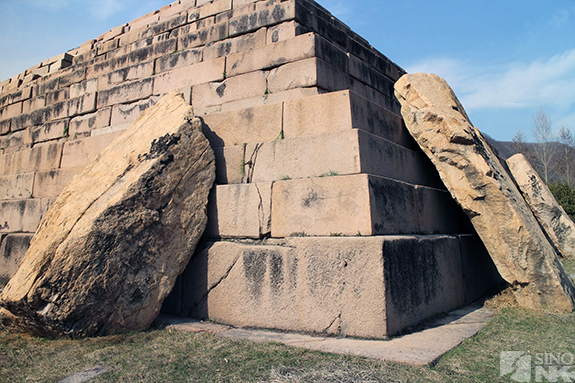 Koguryo-era tomb in the city of Ji'an, Jilin Province, PRC. | Image: Destination Pyongyang/Sino-NK