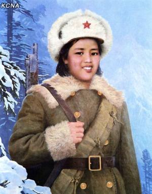 kIm Jong-suk warrior
