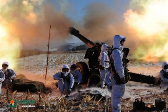 China Military Online's ode to the Shenyang military region   Image: China Military Online