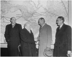 Churchill with Dean Acheson