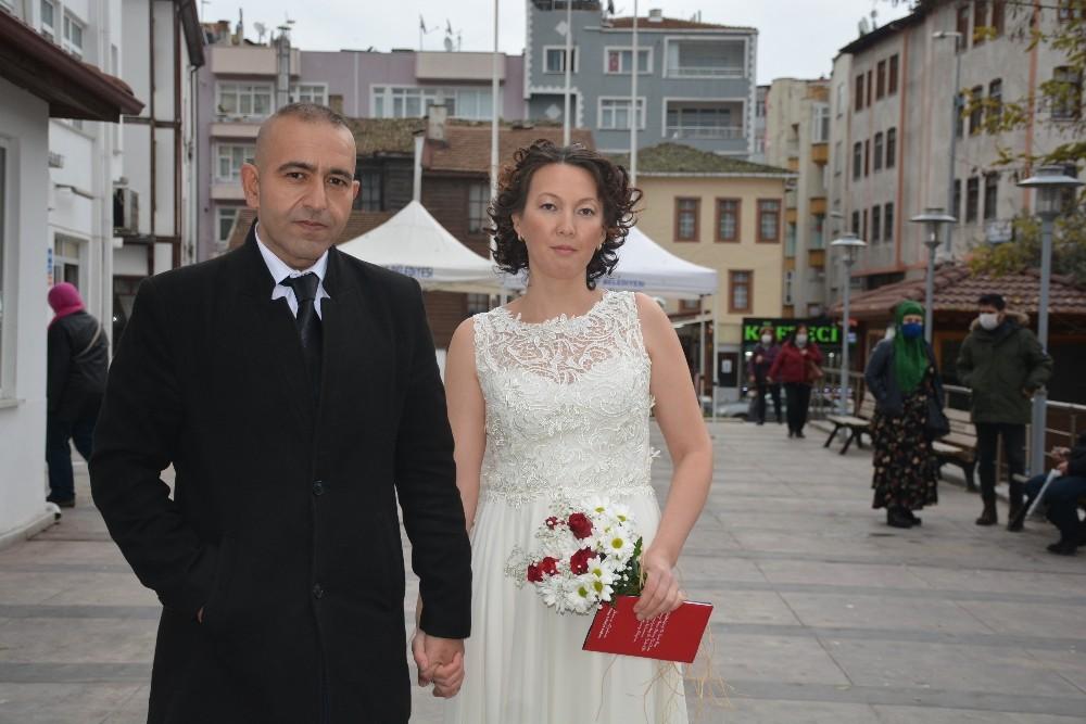 Sinop'a Kırgız gelin
