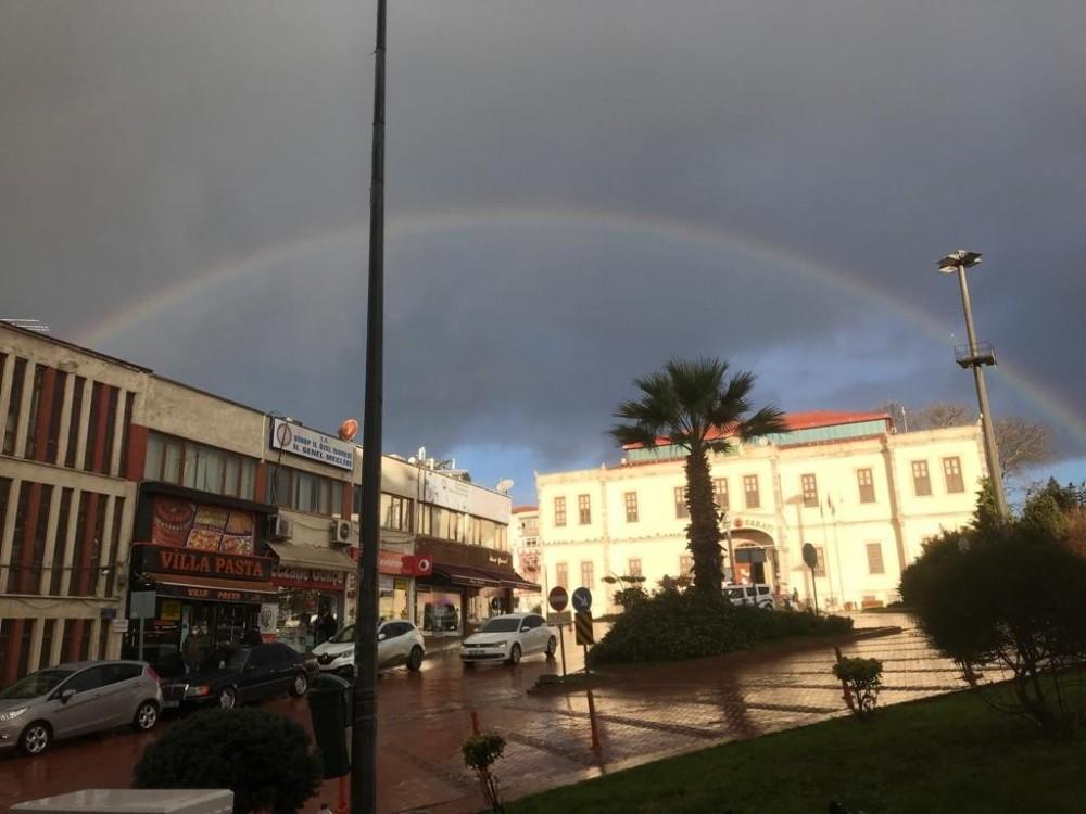 Sinop'ta gökkuşağı güzelliği