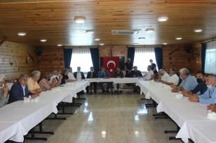 Türkeli'de muhtarlar derneği seçimi yapıldı