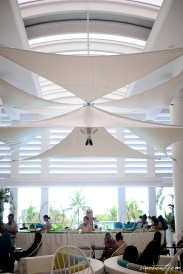 The Movenpick lobby in Cebu is a sight for sore eyes!