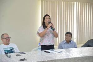 Deputada Mariana Carvalho é recebida no Sinpfetro