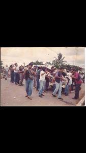 No início dos Anos 80 na localidade de Extrema