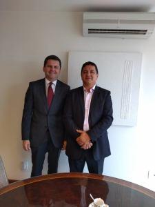 Airton presta contas de sua viagem a Brasília