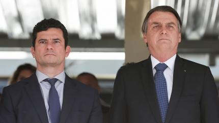 Planalto isenta Sérgio Moro e deseja que ele 'aguente o tranco' até o fim