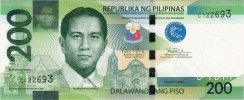 200 Pesos New Generation Currency Banknote Obverse