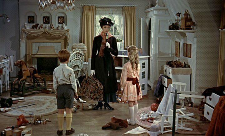 mary poppins et la magie du rangement