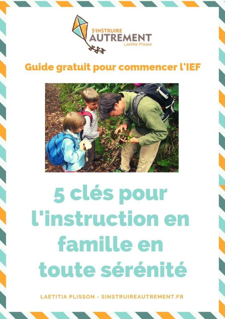 instruction en famille en toute sérénité