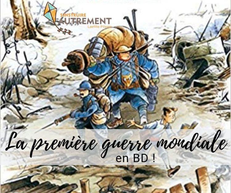 premiere guerre mondiale livre pour enfant BD