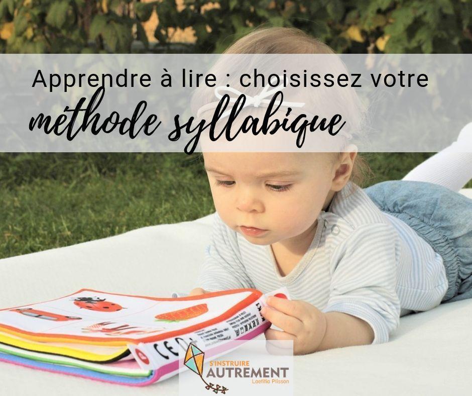 Boscher ou Montessori, quelle méthode syllabique pour apprendre à lire ?