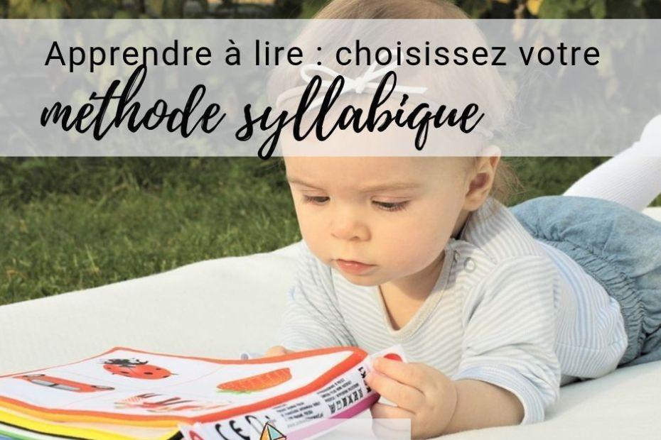 méthode syllabique pour apprendre à lire