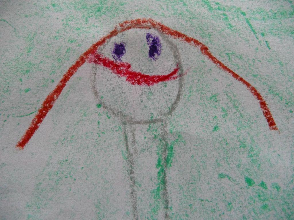 en dessinant librement, l'enfant explore l'espace et ses mouvements. Petit à petit, il acquiert des compétences et apprend en s'amusant !
