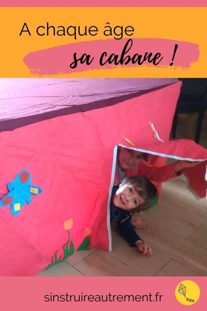 Selon leur âge, les enfants ne construisent pas de cabane pour les mêmes raisons. Un refuge, un abri, pour eux seuls ou à plusieurs... Les enfants aiment les cabanes, de la maternelle à l'adolescence !