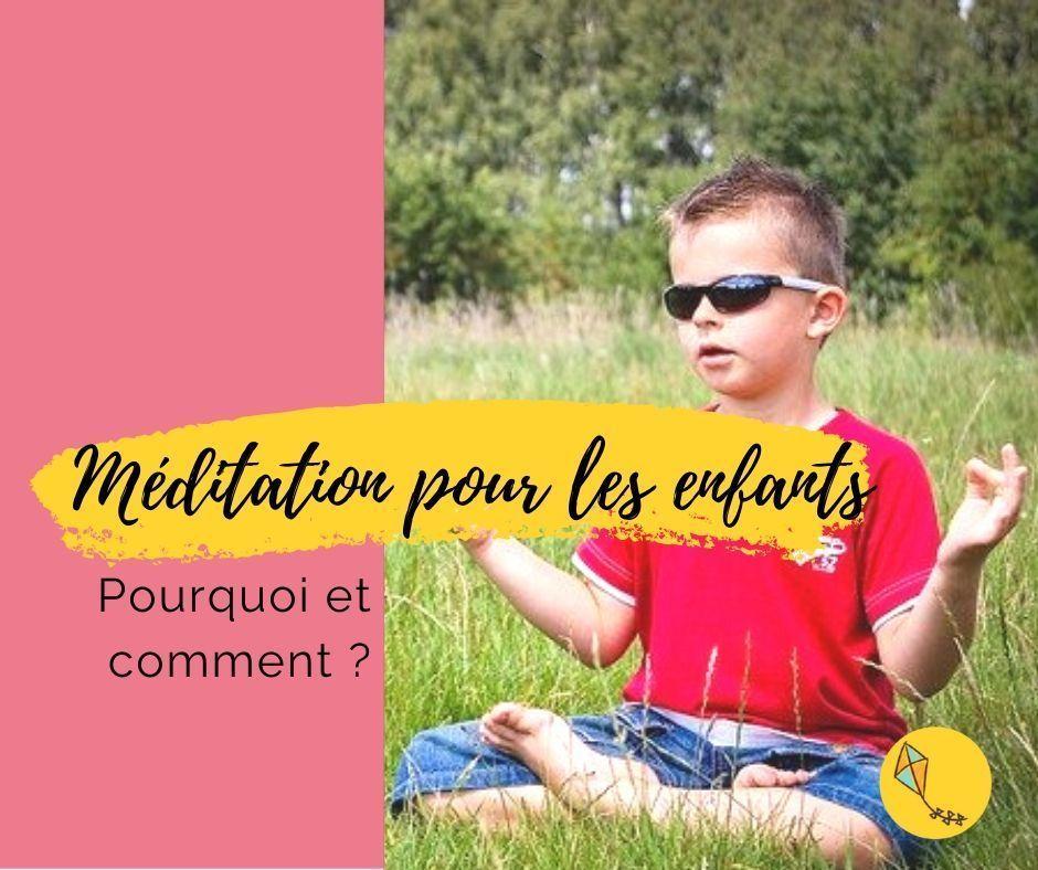 Méditation pour les enfants : une bonne idée ?