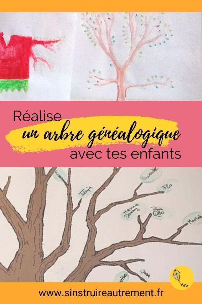 3 étapes pour créer un arbre généalogique avec tes enfants. Une activité pour les aider à prendre leur place, à travailler l'histoire et la créativité