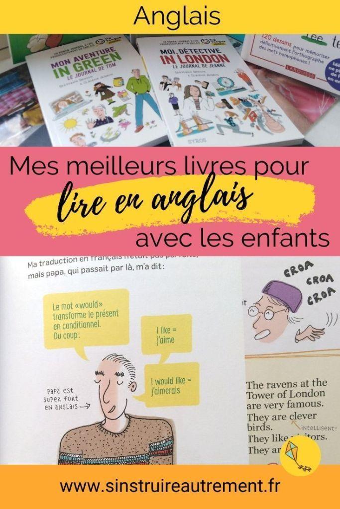 Ma sélection des meilleurs livres pour apprendre l'anglais aux enfants : les romans-journaux de Tip Tongue.