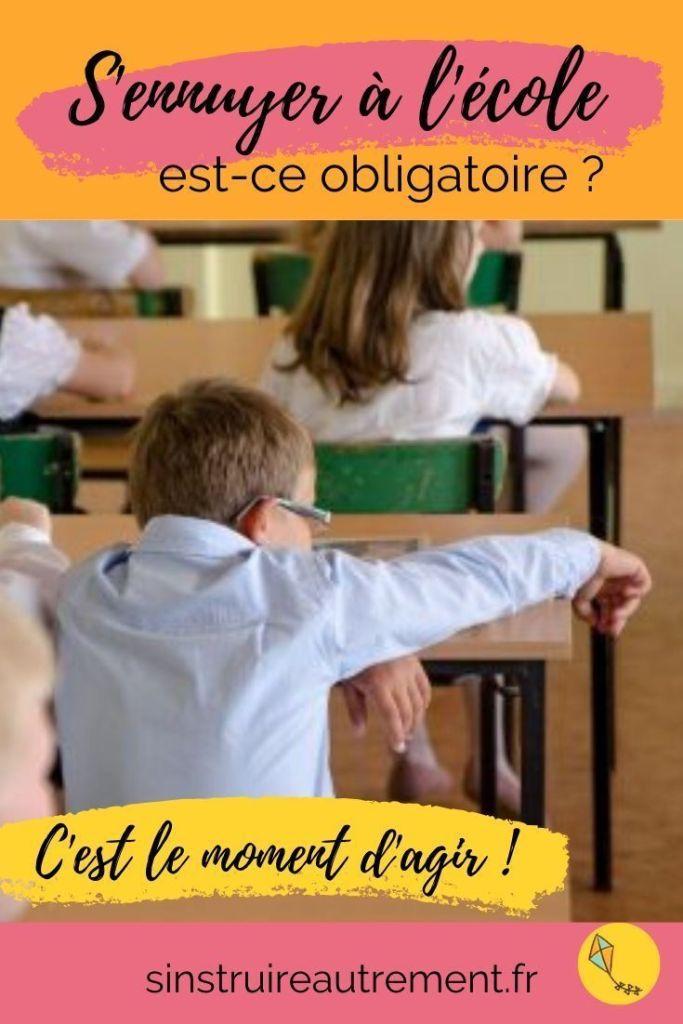 Trop d'enfants s'ennuient à l'école, même s'ils réussissent bien... Et si on faisait autrement ?