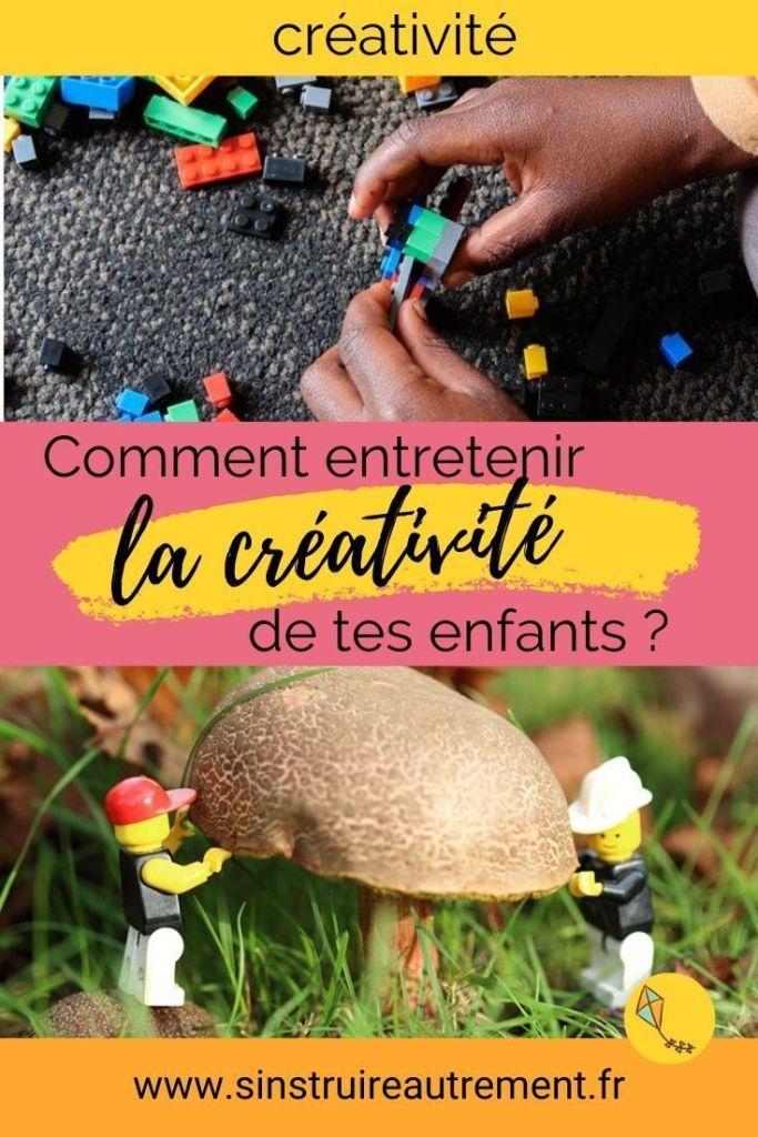 Comment entretenir la créativité de tes enfants ? Mes conseils pour aider ton enfant à apprendre et à développer tout son potentiel créatif