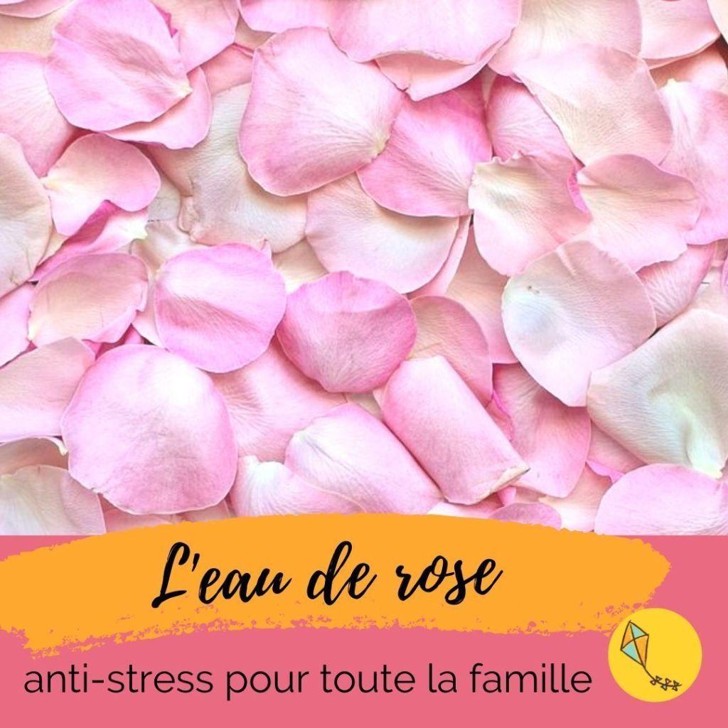 L'eau de rose : ma botte secrète anti-stress pour les enfants comme pour les parents