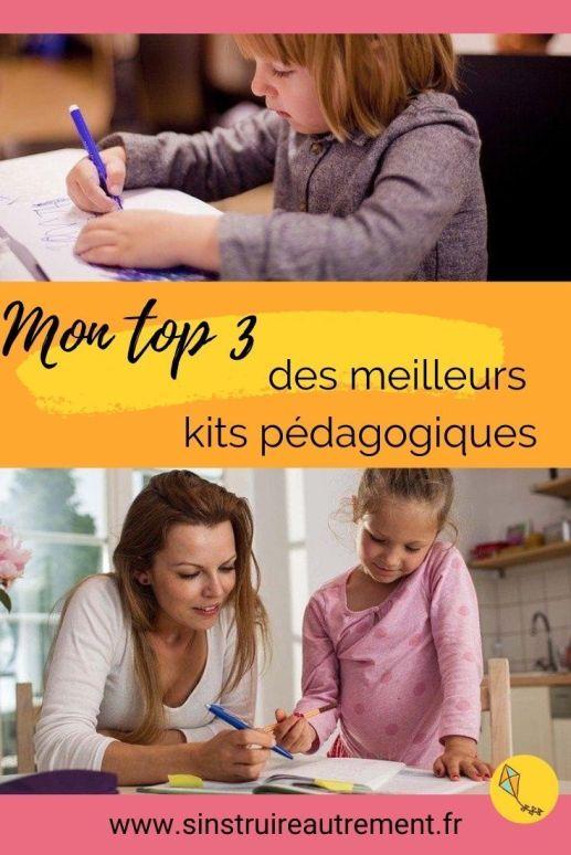 les meilleurs kits pédagogiques pour tes enfants en IEF