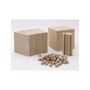 cubes pour compter Montessori