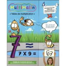 multimalin méthode de mémorisation des mulatiplications