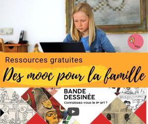 Suivre un MOOC en famille : ressources gratuites pour l'IEF