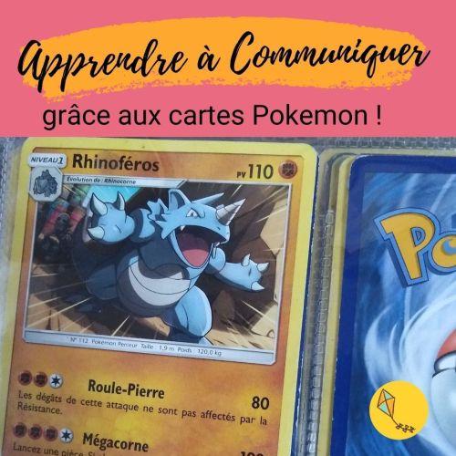 Les cartes Pokémon peuvent aider ton enfant à mieux communiquer !