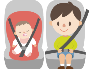 シートベルト違反の罰金の金額はいくら 後部座席
