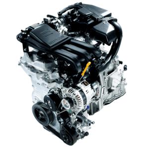 日産ノートのエンジンHR12DE(自然吸気)