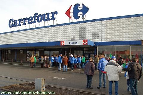 Carrefour hypermarkt Sint-Pieters-Leeuw