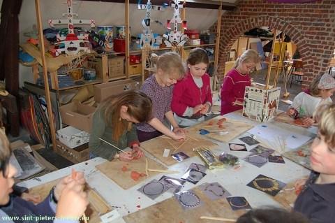 Paasatelier kunstacademie Sint-Pieters-Leeuw 2010