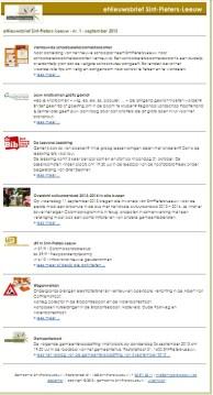 2013-09-17_eerste-electronische-nieuwsbrief_gemeente°sint-pieters-leeuw