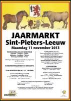 2013-11-11-affiche_jaarmarkt_sint-pieters-leeuw